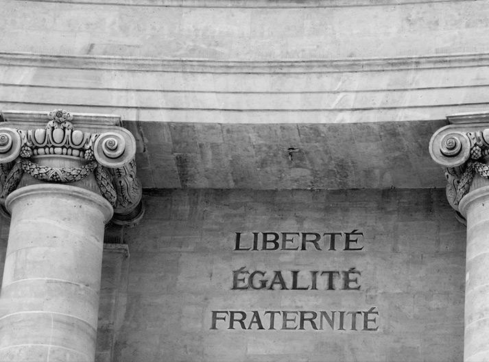 Liberté, égalité, fraternité