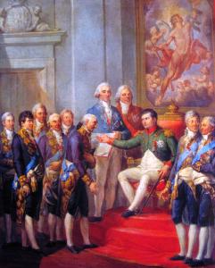 Marcello Bacciarelli, 1811, Nadanie konstytucji Księstwu Warszawskiemu