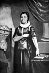 Elizabeth Aldworth - pierwsza kobieta przyjęta w szeregi Wolnomularstwa regularnego.