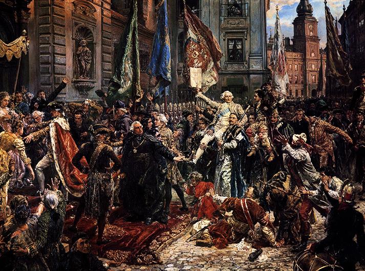 Konstytucja 3 Maja 1791 roku, Jan Matejko, 1891