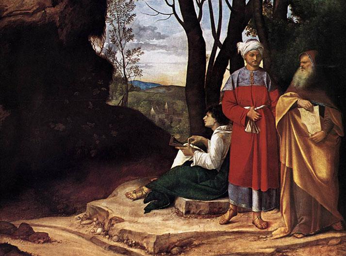 Trzech filozofów, Giorgione