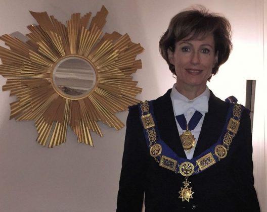 Wielka Mistrzyni GLCS Christine Sauvagnac