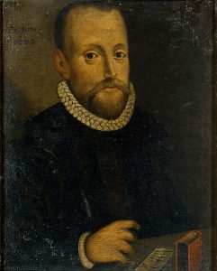 William Perkins (1558-1602), portret wykonany 1602