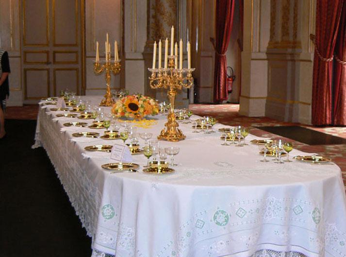 Wielcy Mistrzowie na kolacji u prezydenta Francji