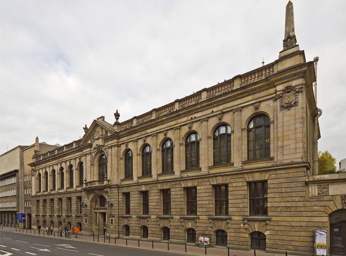 Budynek Biblioteki Uniwersytetu Adama Mickiewicza w Poznaniu