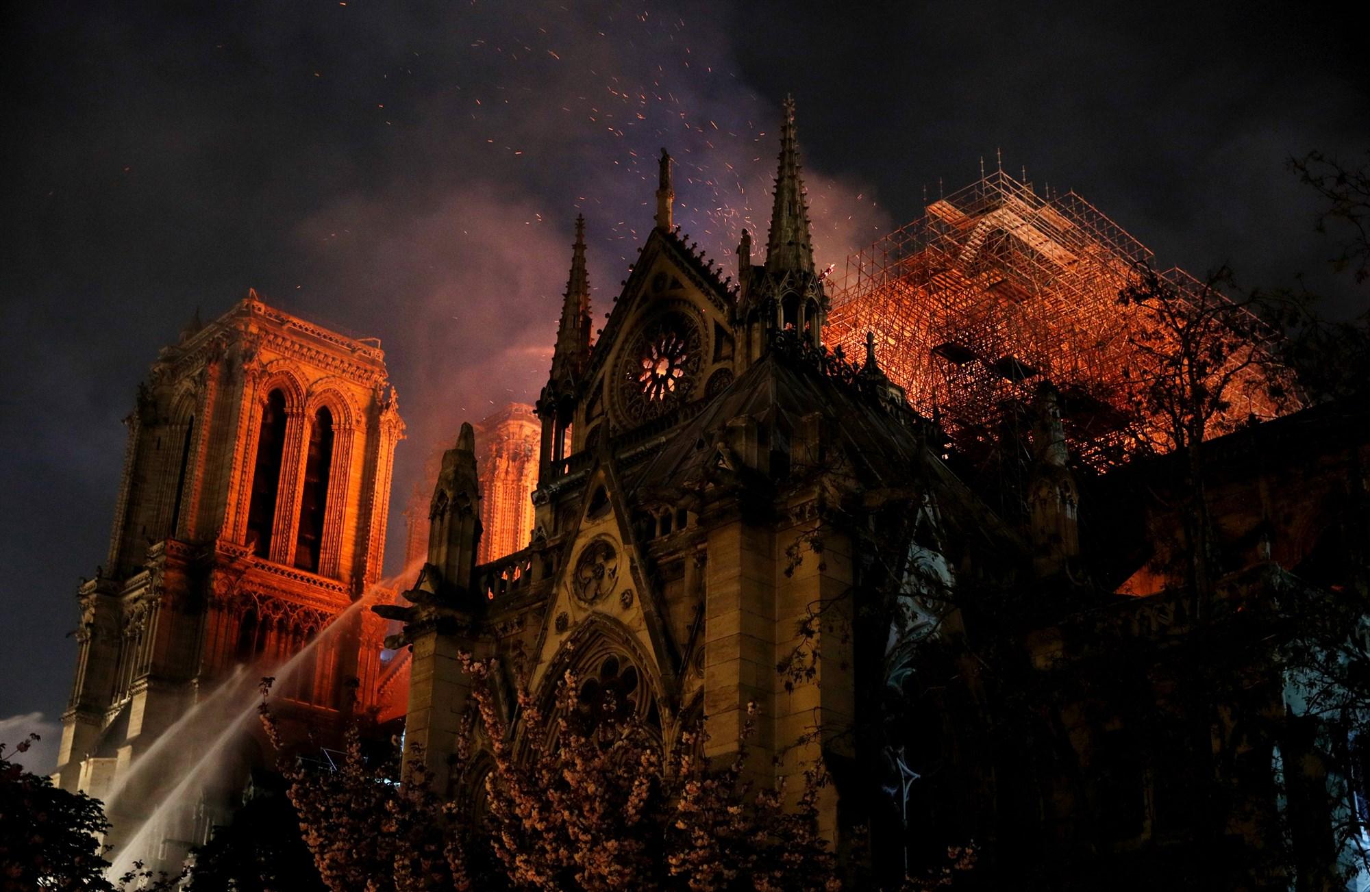 Pożar Notre Dame, Philippe Wojazer, Reuters
