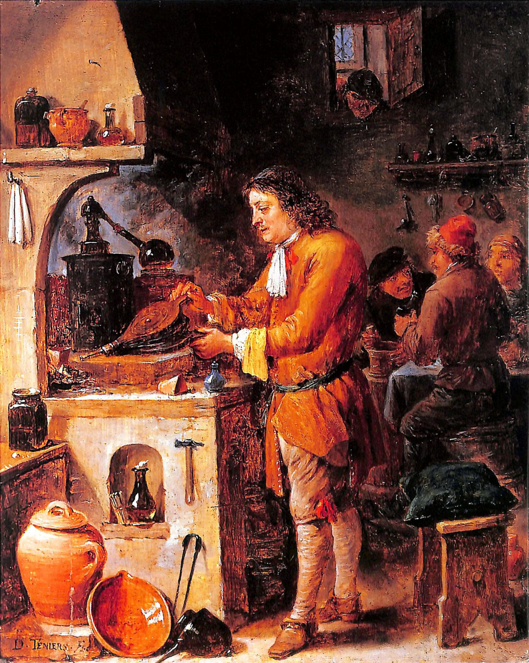 David-Teniers-Młodszy-Alchemik-w-labolatorium