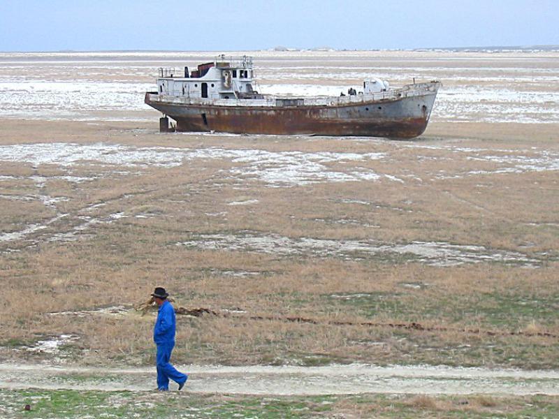Jezioro Aralskie. Źródło: ekologia.pl